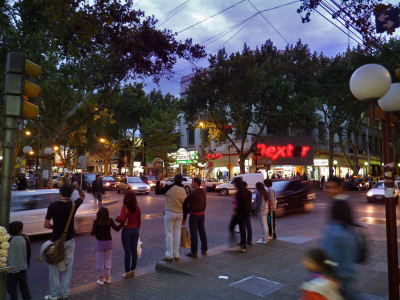 April in Mendoza City. source