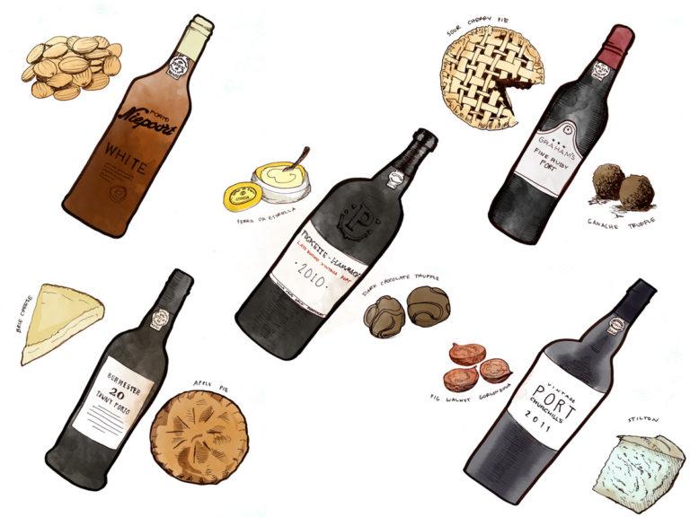 port-styles-and-wine-pairings-illustration-winefolly