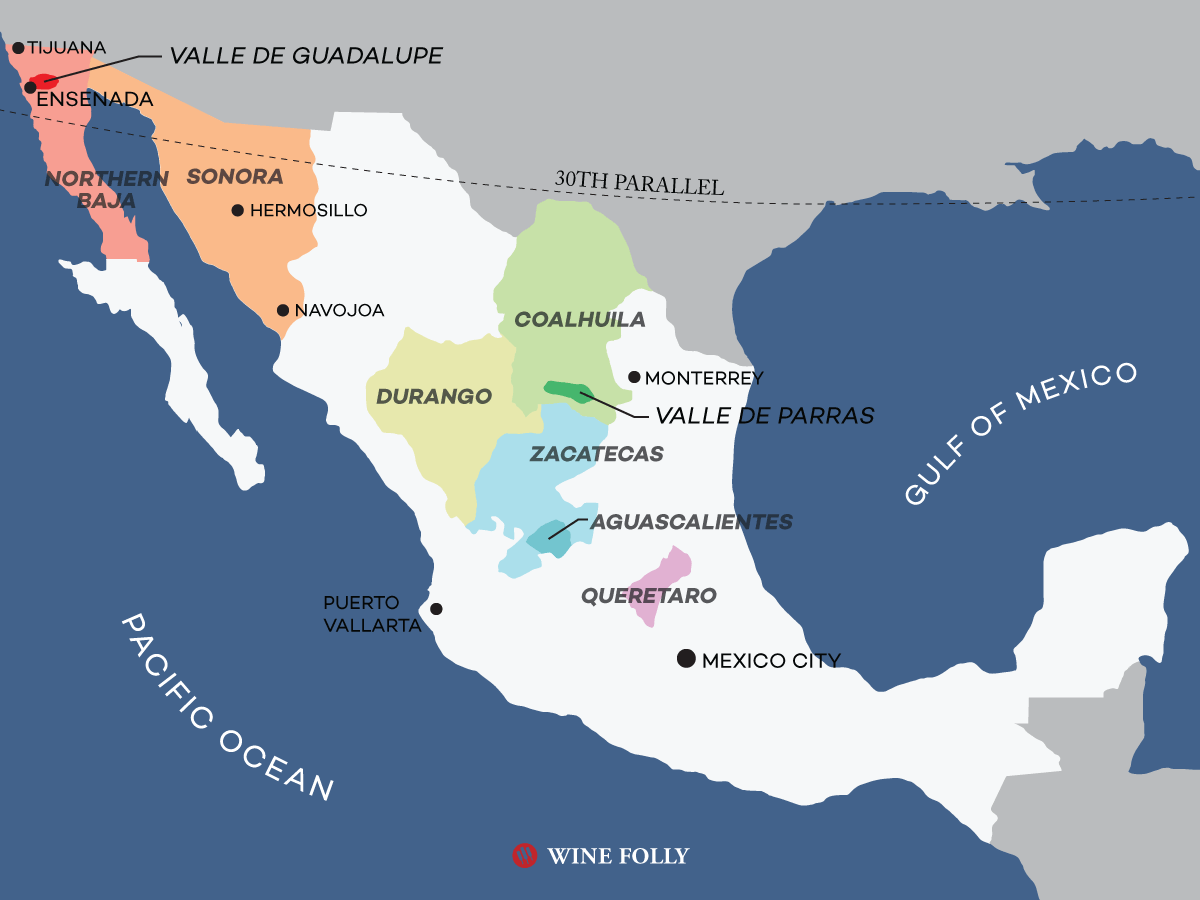 An Overview of Mexican Wine Country   Wine Folly
