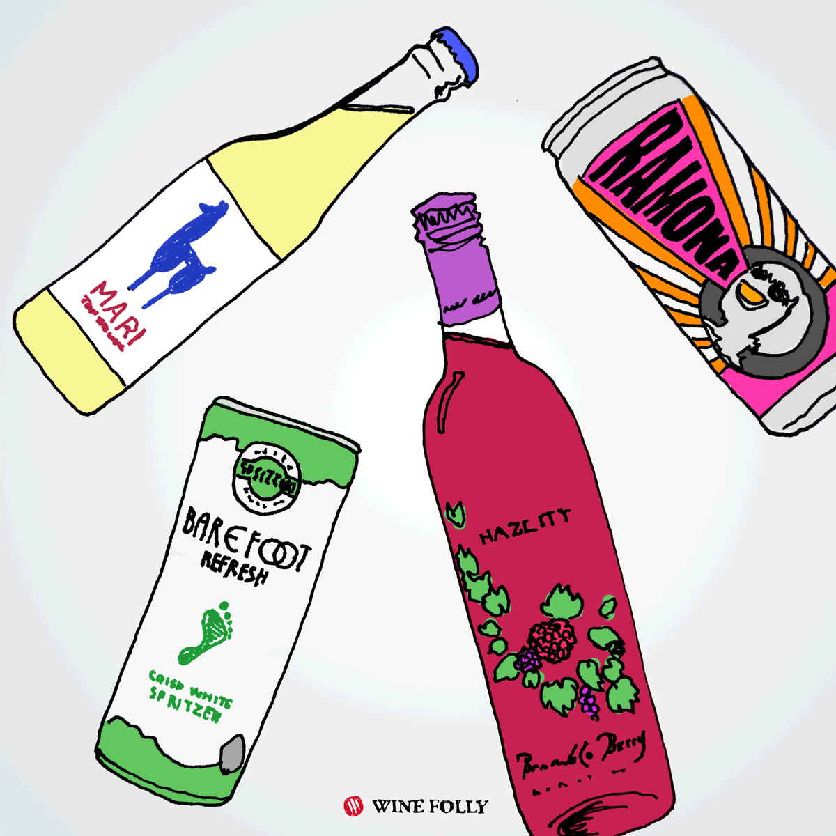 Wine Coolers Spritzers Cocktails 2017 Wine Folly