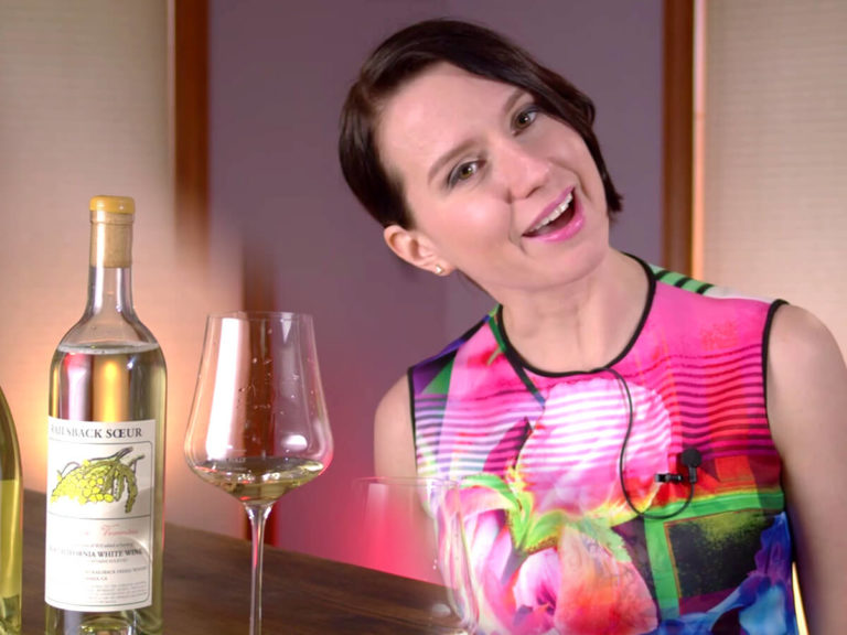 Madeline Puckette on choosing white wines for quality video 2020